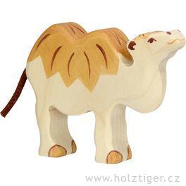 Malý velbloud – dřevěná hračka