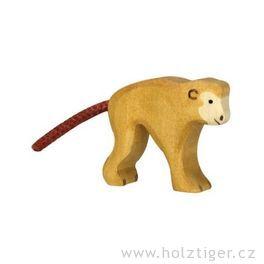 Gibon shrbem – dřevěná hračka