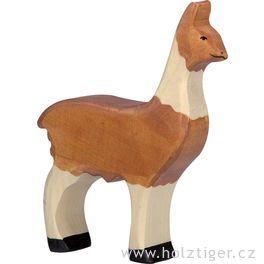 Lama – dřevěné zvíře