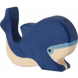 Velrybí mládě – vyřezávané zvířátko zedřeva