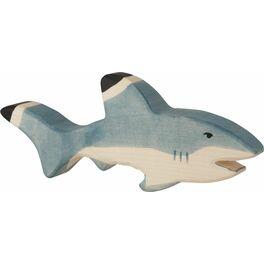 Žralok – vyřezávané zvířátko zedřeva