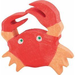 Červený krab – dřevěná hračka
