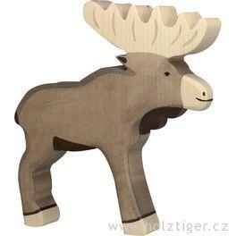 Los– dřevěné zvířátko