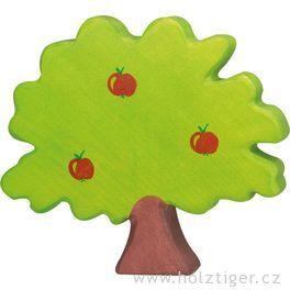 Jabloň – vyřezávaná dřevěná hračka