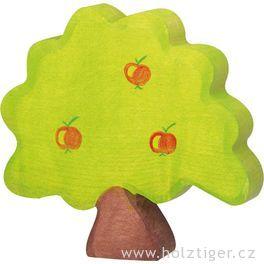 Jabloň malá – vyřezávaná dřevěná hračka
