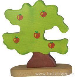 Jabloň proptáčky – vyřezávaná dřevěná hračka