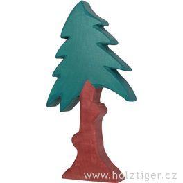 Jehličnan vysoký skorunou – vyřezávaná dřevěná hračka