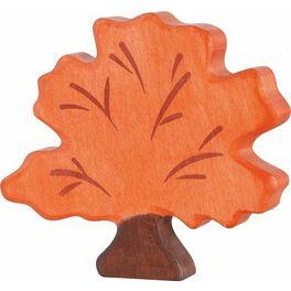 Strom podzimní – vyřezávaná dřevěná hračka