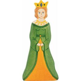 Královna – dřevěná vyřezávaná figurka