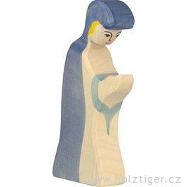 Marie – biblická dřevěná postava