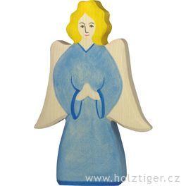 Archanděl – biblická dřevěná postava