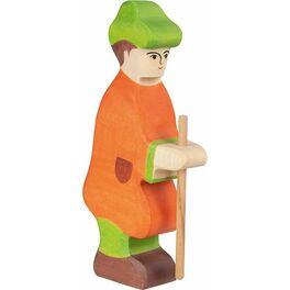 Pastýř sholí (série I)– biblická dřevěná postava