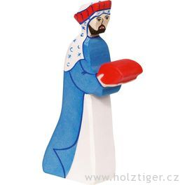 Melichar (fialový) 2– biblická postava zedřeva