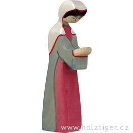 Marie (série II)– biblická postava zedřeva