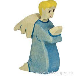 Anděl modrý 2– biblická postava zedřeva