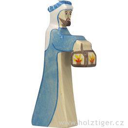 Pastýř slampou 2– biblická postava zedřeva