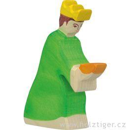 Baltazar 3– dřevěná postavička dobetlému
