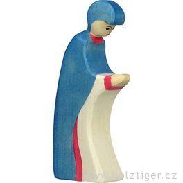 Marie 3– dřevěná postavička dobetlému