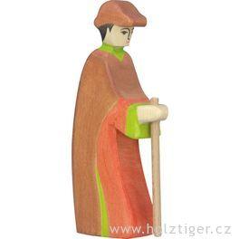 Pastýř sholí (série III) – dřevěná postavička dobetlému
