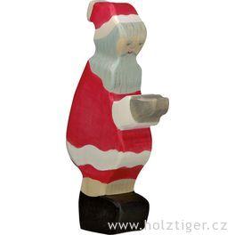 Vánoční muž – dřevěná figurka