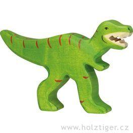 Tyrannosaurus Rex– dřevěná vyřezávaná hračka