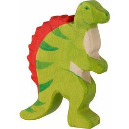 Spinosaurus – dřevěná vyřezávaná hračka