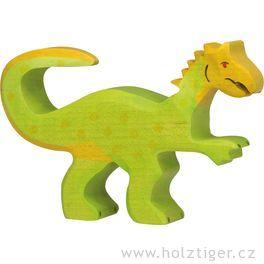 Oviraptor – dřevěná vyřezávaná hračka
