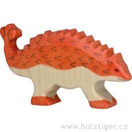 Ankylosaurus – hračka zedřeva