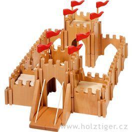 Rytířský hrad zedřeva