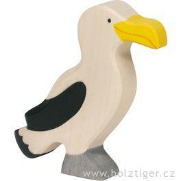 Albatros – vyřezávané zvířátko zedřeva
