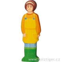 Selka – dřevěná figurka