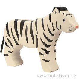 Sibiřský tygr – zvířátko zedřeva