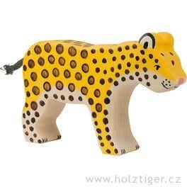 Gepard – dřevěné zvířátko